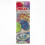 Gelli Arts Mini Gel Printing Plates: Set of 3 (Oval, Rectangle & Hexagon)