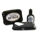 StazOn Ink Pad Metallic: Platinum