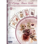 3D Cardmaking Books - Vintage Flower Greeting Cards