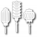Frantic Stamper Precision Die - Lantern Icons (set of 3 dies)