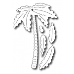 Frantic Stamper  Precision Die - Tall Palm Tree W/ Fronds (set Of 5 Dies)