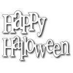 Frantic Stamper  Precision Die - Fun Happy Halloween