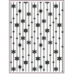 Creative Expressions Embossing Folder  - Frosted Stripes