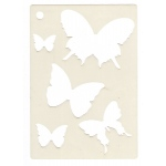Creative Expressions  Mini Stencil -Butterfly Splash