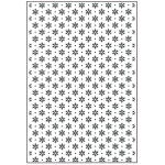Creative Expressions Embossing Folder A4 - Let It Snow