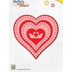 Nellie's Choice Multi Frame Dies - Heart