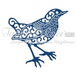 Tattered Lace Die - Wren
