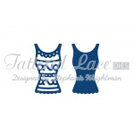 Tattered Lace Die - Bella's Vest