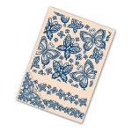 Tattered Lace Embossing Folder Set - Butterflies