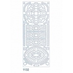 Deco Stickers - Decorative Shapes: Silver