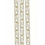 Deco Stickers - Wedding Ribbon: Silver