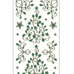 Deco Stickers - Holly Tree/Corner Flourish