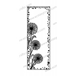 Creative Expressions Sue Wilson Stamps - Dandelion Mini Striplet