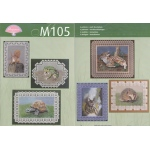 M105 Forest Animals Pattern Booklet (multi language)