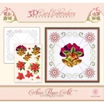 Ann's Paper Art Ann Paper Embroidery Pattern - Christmas Bells