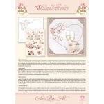 Ann Paper Embroidery Pattern - Heart