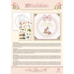 Ann Paper Embroidery Pattern - Baby Frame