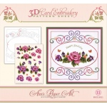 Ann's Paper Art  - Embroidery Pattern-Garden Enchantment