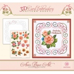 Ann Paper Embroidery Pattern - Camellia