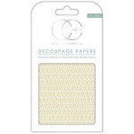 Creative Expressions Gold Droplet Decoupage Papers