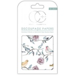 Bird Tree Tops Decoupage Papers
