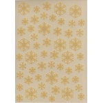 Joy Crafts Embossing Stencil - Polybesa SnowFlakes