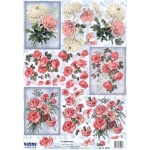Reddy Die Cut 3D - Carnations, Roses, Chrysanthemum