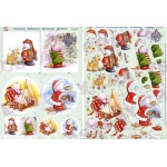 3D Precut (4 scenes)Humphrey Elephant Christmas/Winter at Play