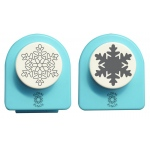 Nellie's Choice Floral Punch Jumbo Set - Snowflake