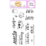 Frantic Stamper Clear Stamp Set - Party Animals
