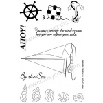 Frantic Stamper  Clear Stamp Set - By The Sea