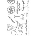 Frantic Stamper Clear Stamp Set - Summertime Fruits