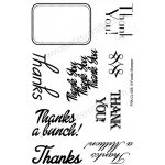 Frantic Stamper  Clear Stamp Set - Many Thanks