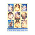 Dufex  Metallic Stickers - Cute Nativity