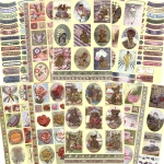 Ecstasy Crafts Dufex Metallic Everyday Sticker Assortment - 20 Sheets