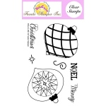 Frantic Stamper  Clear Stamp Set - Finial Ornaments