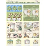 3D Precut - Twin Pack - Rabbits, Little Cheep and Nostalgic Easter