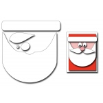 Frantic Stamper Precision Die - Santa Face Card Maker