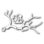 Frantic Stamper  Precision Die - Cherry Blossom Branch (set Of 2 Dies)