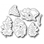 Frantic Stamper Precision Die - Mix N Match - Poppies
