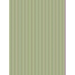 Pergamano Parchment Paper - Olive Green Stripes (5 Sheets)