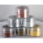 Cosmic Shimmer Metallic Embossing Powder: Silver Lustre