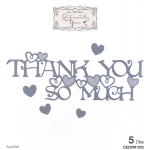 Creative Expressions Phill Martin Sentimentally Yours: From The Heart Collection: Thank You So Much