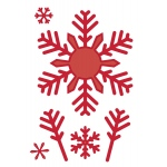 Creative Expressions Sue Wilson Dies -Festive Collection - Bold Snowflake Flurry