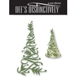 Dee's Distinctively Dies - Christmas Tree 2