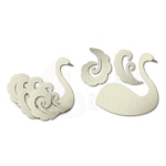 Dee's Distinctively Dies - Gloria's Swan (right)