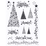 Creative Expressions - Clear Stamp Set - Magical Christmas