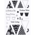 Creative Expressions  - Clear Stamp Set - O Christmas Tree