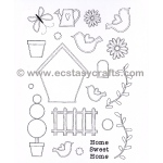 Creative Expressions Stamp - In The Garden