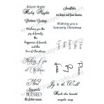 Creative Expressions Peace Joy Love - Stamp Set